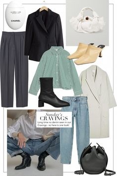 Sunday's Cravings: Almost Forgot About Denim 70s Fashion, Winter Fashion, Fashion Outfits, Womens Fashion, Wardrobe Sets, Capsule Wardrobe, Mode Dope, How To Have Style, 70s Mode