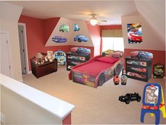 Shop for a Disney Cars Lightning McQueen 8 Pc Bedroom at Rooms To ...