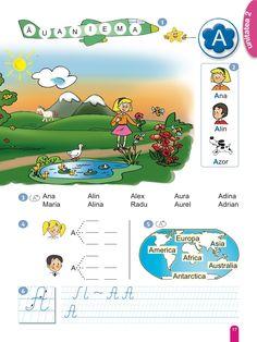 Comunicare în Limba Română Antarctica, Africa, Map, Digital, School, Books, Livros, Book, Livres