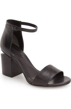 Alexander Wang 'Abby' Block Heel Sandal (Women) available at #Nordstrom