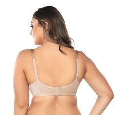 1dd0c3ceb9f87 Playtex Secrets Perfect Lift Full Coverage Underwire Bra S520 - Tan Beige  44DD