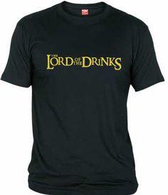 Parodia de El señor de los anillos - The Lord of the Drinks - El Señor de las bebidas. Para tu amigo el borracho