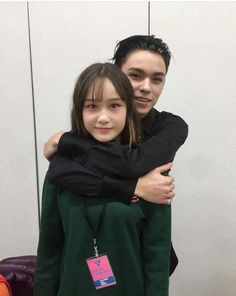 Vernon & His cute little sister