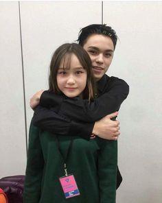 Vernon & His cute little sister
