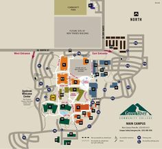 94 Best campus maps images