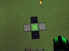Student Created Tutorial: Creating a Jump Platform in #minecraft