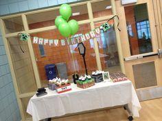 Minecraft Cake Table