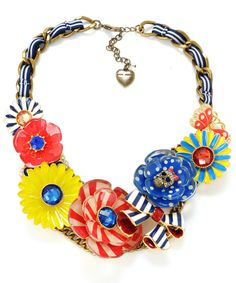 Summer Carnival necklace from Betsey Johnson. Love!!