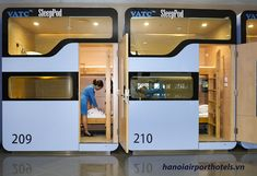 Hanoi airport welcomes some pretty fancy new sleep pods