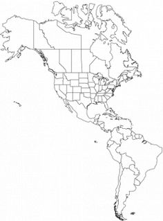 image blank topographical map of US   World Map > North ...