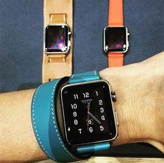 Hermès assina versão deluxe do novo Apple Watch (Foto: Reprodução/ Instagram)