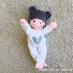 My first baby doll Www.nathaliesweetstitches.com