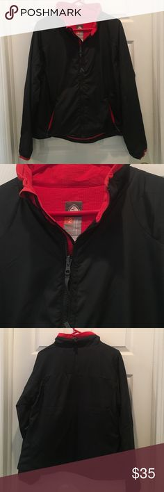 Nike Black and Red Zipup size XL Worn once Nike Jackets & Coats