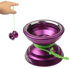[$24.58] Super Active Precision KK Bearings Alloy YOYO Ball Toys (Purple)