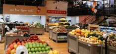 The Locavore aims to be a meetings spot and a neighbourhood grocery, offering expansive yet casual in-store dining options with a focus on local providers Colorado Ranch, Sushi Restaurants, Fruit In Season, Fruits And Vegetables, Grocery Store, A Food, The Neighbourhood, Dining, Business