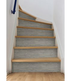 Changing Carpeted Stairs To Wooden Stairs | Wooden Stairs, Change And  Basements