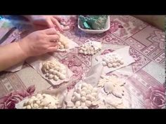 Соленое тесто, лист винограда - YouTube