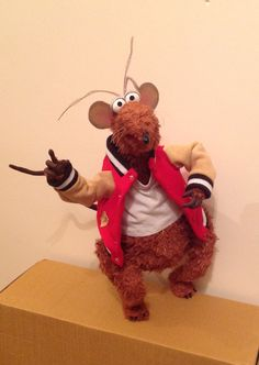 Rizzo Rat Replica recently completed, all hand made and stitched.