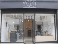 People and Their Spaces - Sleek Industrial Designed Barber Shop - Only Ella