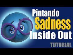Fofucha Fofulapiz Tristeza Intensamente - Sadness fofupencil Inside out - YouTube