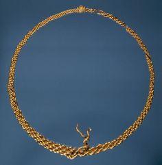 Viking Age, / gold necklace / Danish