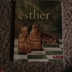 Esther Beth Moore Bible study.