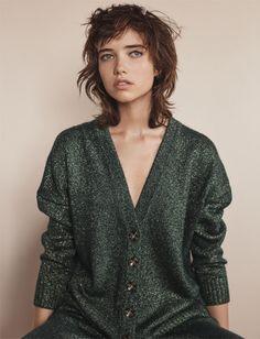 #Zara Knit edit, new Woman #AW16 editorial featuring Gracie Hartzel #zaraeditorials #zarawoman Look__04