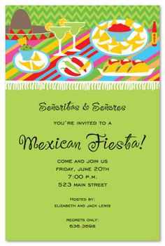 Image result for free mexican fiesta invitation templates