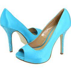 solid color heels for bridesmaids
