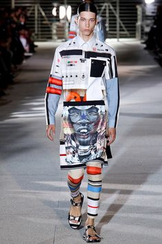Givenchy Spring 2014 Men's Collection! Visit www.facebook.com/ateliergabrielbespoke