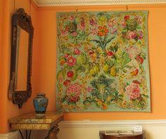 A needlepoint Kaffe Fassett Tapestry