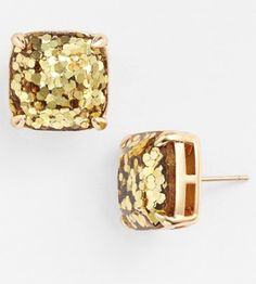 gold glitter stud earrings http://rstyle.me/n/tmaywpdpe