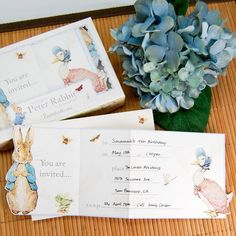 Peter Rabbit Party Invitations by Beau-coup