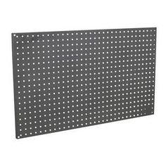 Sealey APSPB Steel Pegboard Pack of 2 Use as part of a complete professional garage storage system or as an individual storage panel. Perforated storage panel ideal for hanging tools to keep