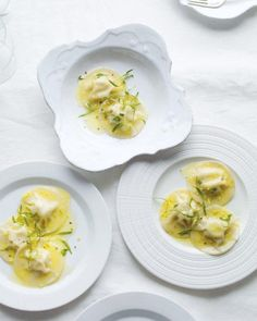 Mother's Day Recipes // Crab Ravioli with Lemon Butter Recipe