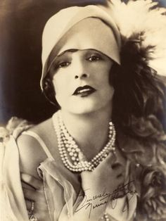 Norma Talmadge, silent film star in the early 1900's.
