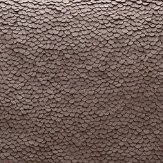 detail of leather sequins from cuyana