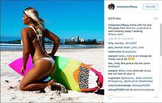 Surfista australiana enfeitiça fãs no Instagram