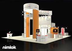 Nimlok creates trade show booths and healthcare exhibits. For Medison America, Inc., we designed and built a custom large-scale trade show solution.