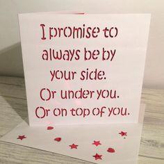 Valentine's card, funny valentine's card, valentine's day card, card for boyfriend, boyfriend valentine, husband valentine, card for him by AprilDaysDesigns on Etsy