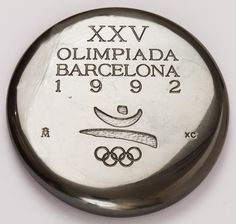 Barcelona '92, la medalla conmemorativa de los voluntarios!