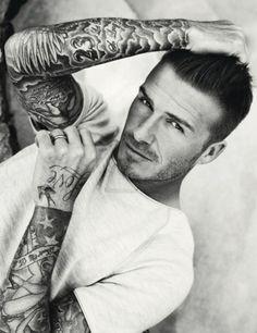 David Beckham. Mmmmm. <3