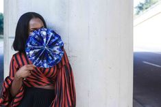 DIY Ankara Hand Fan