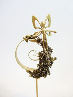 Bronze home decoration with a fairy. Gift ideas. Gifts for her. Home deco. Unique gift. by Paraschis on Etsy