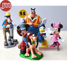 Find More Action & Toy Figures Information about New 6pcs Mickey Mouse Clubhouse Minnie Donald Duck Pluto Goofy Pete Action figures Toys Birthday Gift Collection Anime Juguetes,High Quality toy fire trucks for sale,China toy kitchenware Suppliers, Cheap toy candy from M&J Toys Global Trading Co.,Ltd on Aliexpress.com
