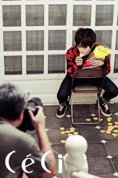 L (MyungSoo) ♡ #INFINITE #KPOP  - Ceci Magazine November Issue '13