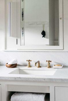 Gold faucets