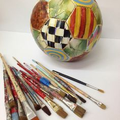 This could be an interesting idea. Take an object from your hobby and paint on it... hmmm I think I like it.