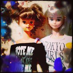 試験前日の現実逃避なう\(^o^)/ #ナオミ #キサラ #naomi #kisara #Girlish #Culture #japan #dollphotography #doll #instadoll  #dolly #リカちゃん #licca #takara #liccachan #licca_chan #liccadoll #jenny #jennyfriend #cameran