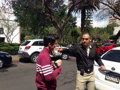 """Yael, protagonico de """"gracias por ser mi amigo """" y josé Gerardo, director"""